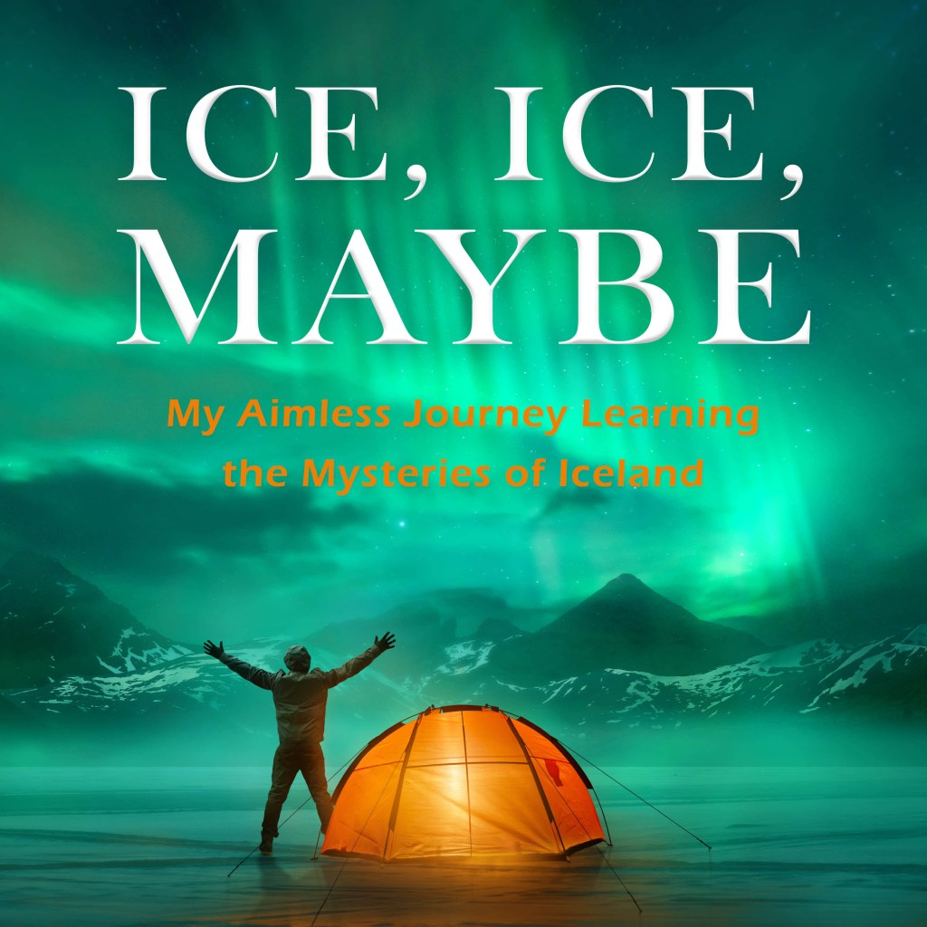 podcast cover art - ice ice maybe